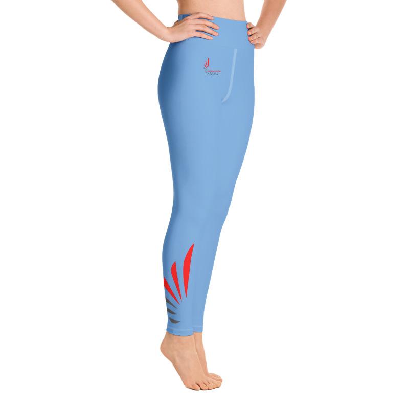 Leggings fitness blue 1 ALLSTAR
