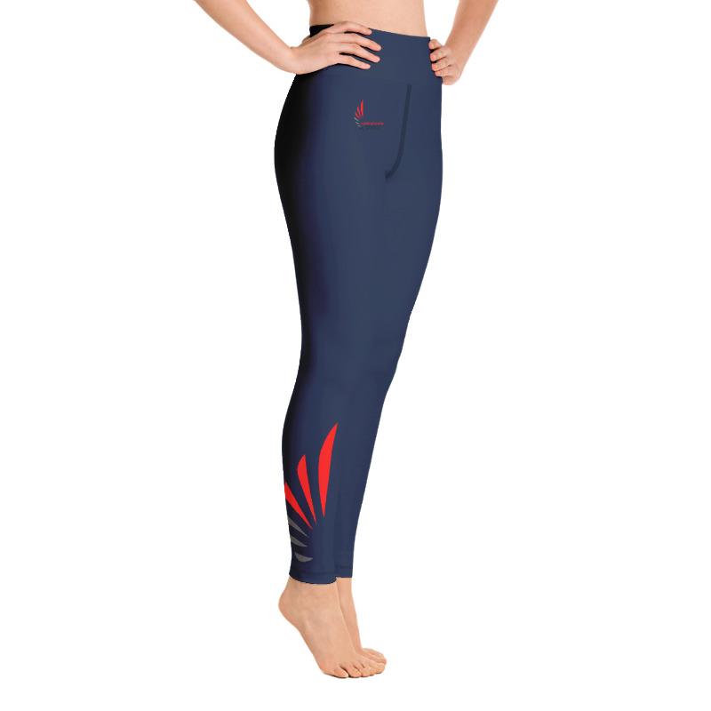 Leggings fitness navy ALLSTAR