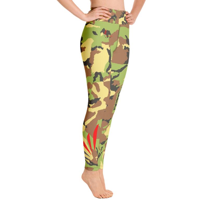 Leggings fitness cam vert ALLSTAR