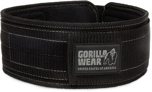 Gorilla Wear 4 Inch Nylon Belt Gorilla Wear