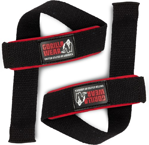 Padded Lifting Straps Gorilla Wear