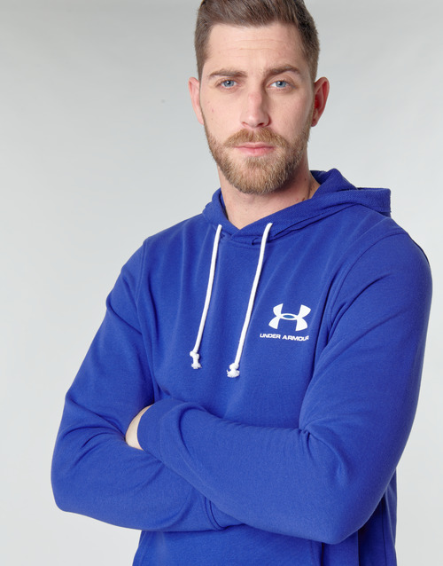 UNDER ARMOUR SPORTSTYLE TERRY HOODIE Bleu