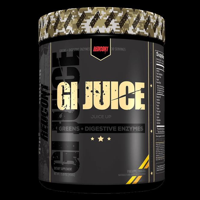 Gi Juice Greens Digestive Enzymes Redcon1