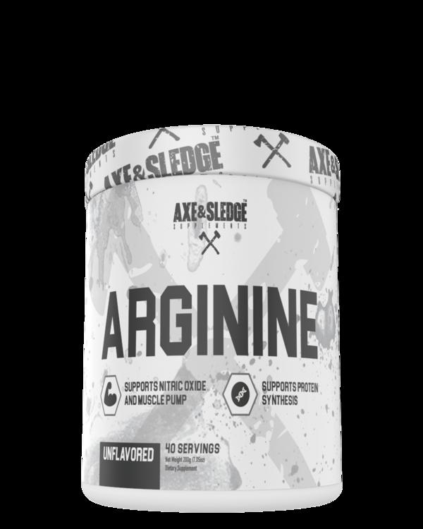 AXE & SLEDGE SUPPLEMENTS Arginine
