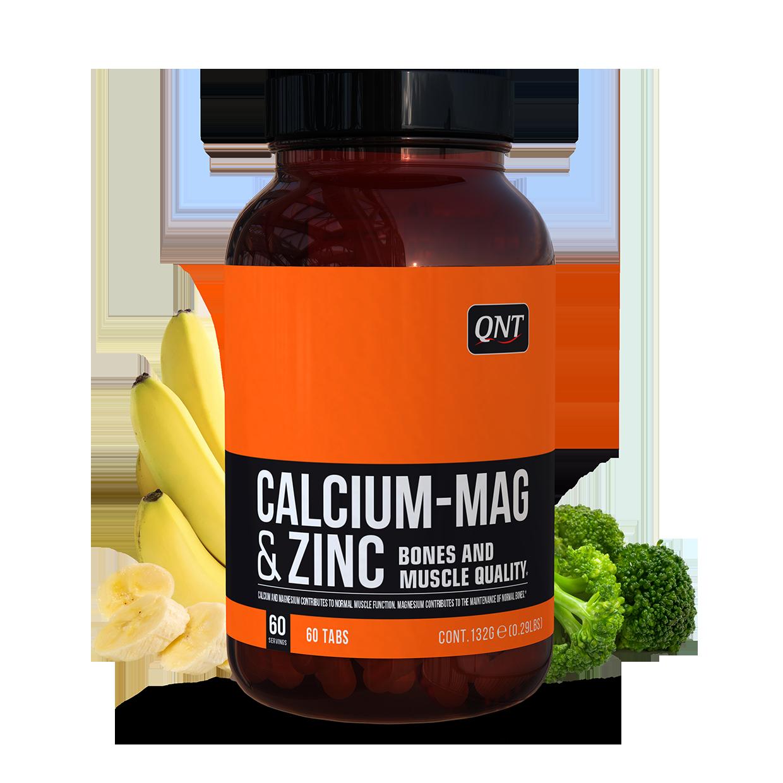 Calcium Magnésium Zinc QNT