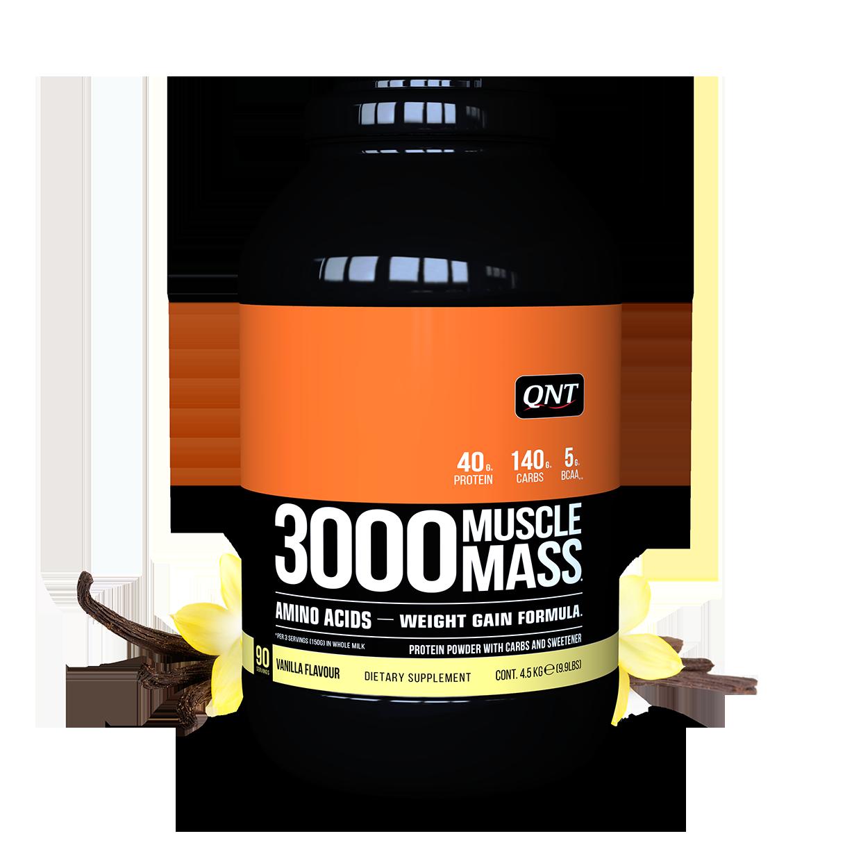 MUSCLE MASS 3000 QNT