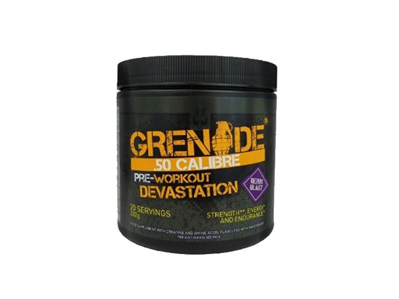 50 Calibre Pre Workout Devastation Grenade