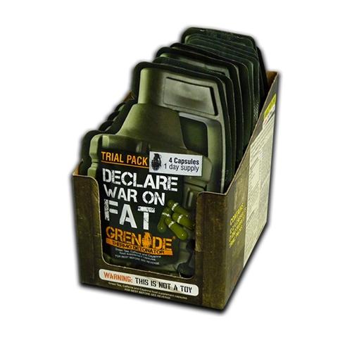 Declare war on fat 48 capsules Grenade