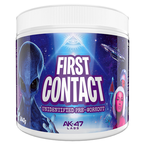 FIRST CONTACT PRE-WORKOUT AK-47 LABS