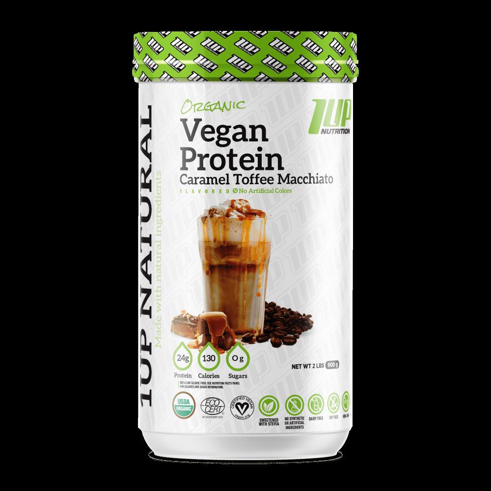 Organic vegan protein 1UP NUTRITION