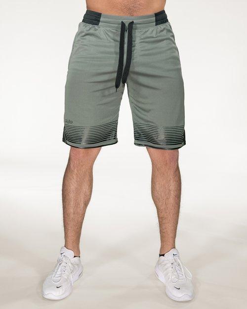 Sniper Green Shorts GAVELO