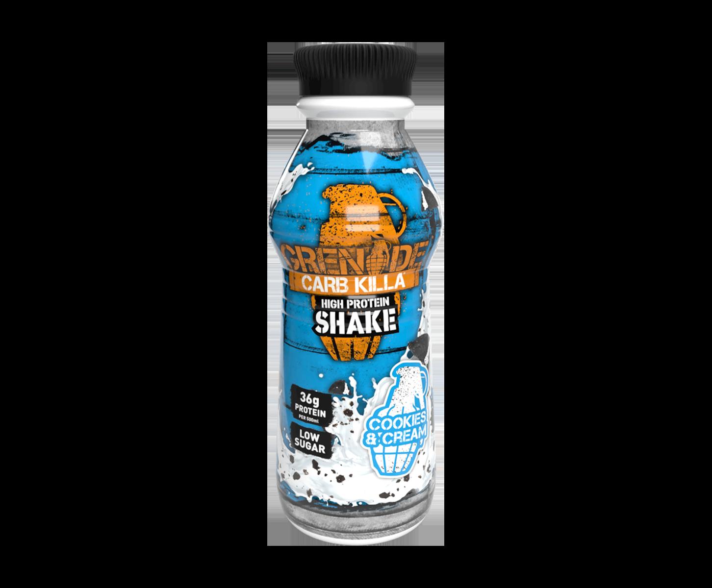 Carb Killa high protein shake Grenade 6x500 ml