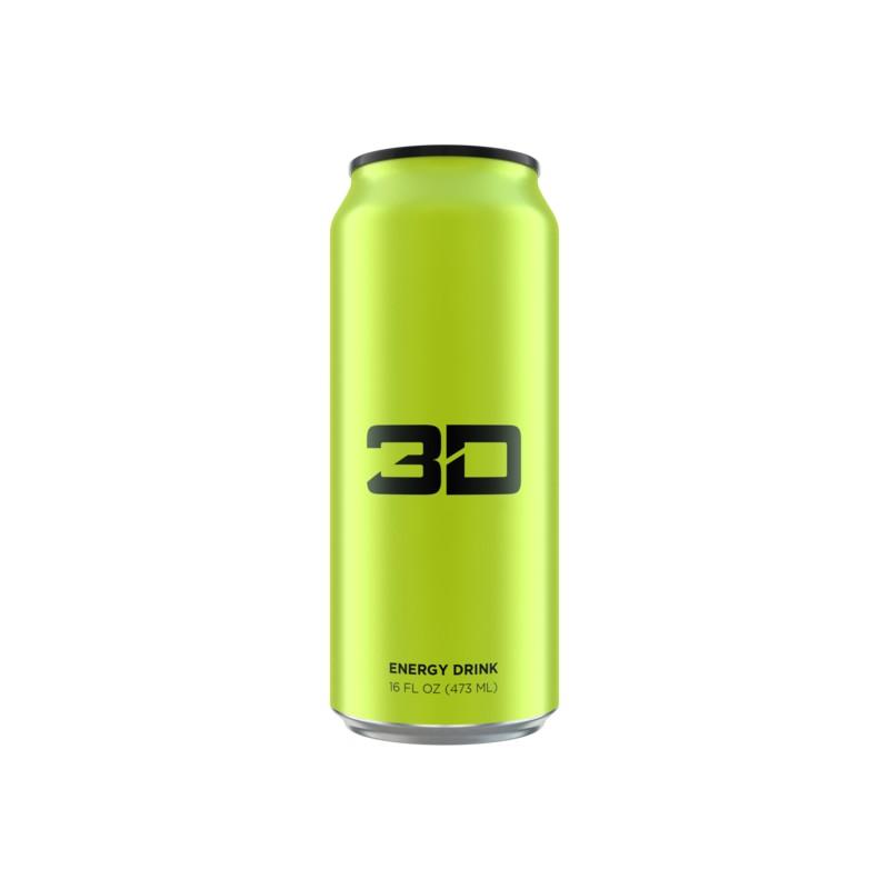Boisson énergétiques 3D 24X473ml