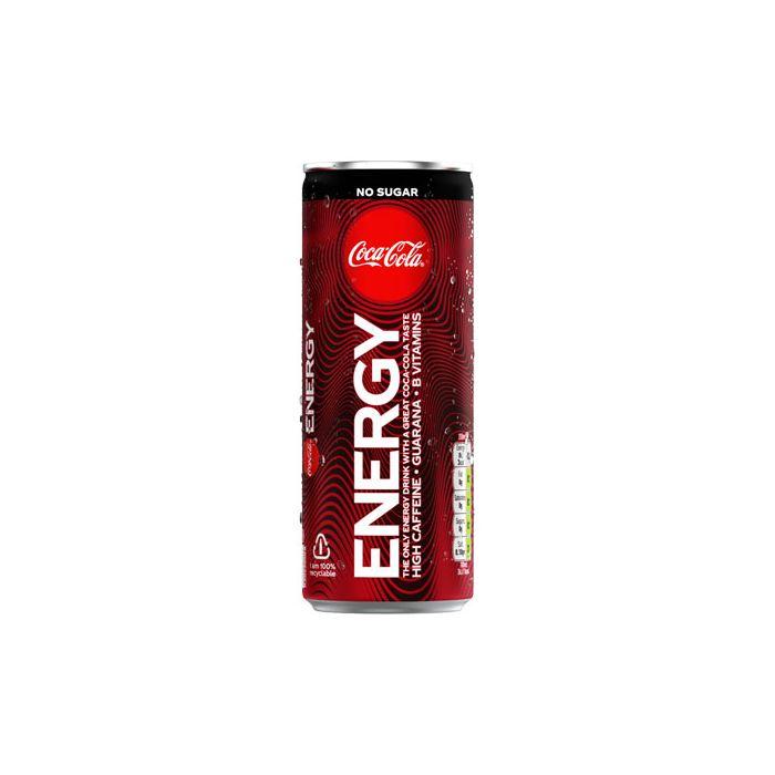 Coca Cola Extreme Energy Zero  12 x 250 ml
