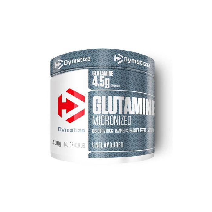 Glutamine 400gr sans saveur Dymatizer
