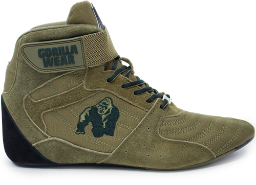 Perry High Tops Pro Army Vert Gorilla Wear