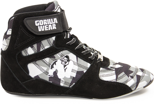 Perry High Tops Pro Camouflage Noir Gris Gorilla Wear