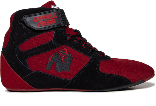 Perry High Tops Pro Rouge Noir Gorilla Wear