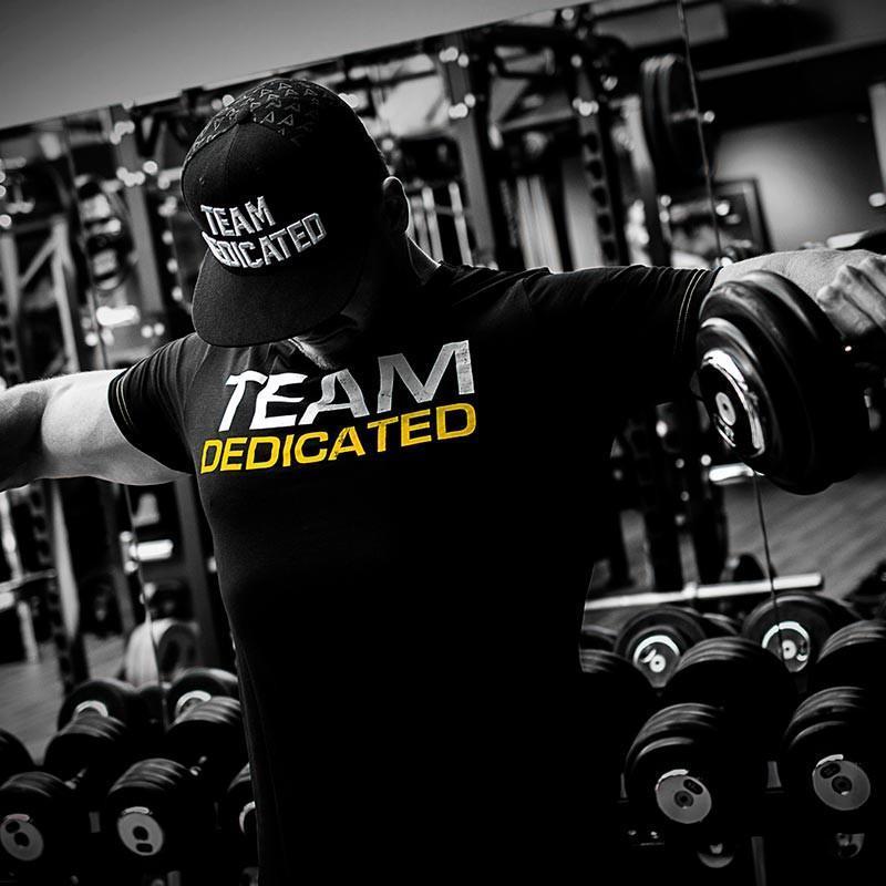 T-shirt Dedicated Team Dedicated