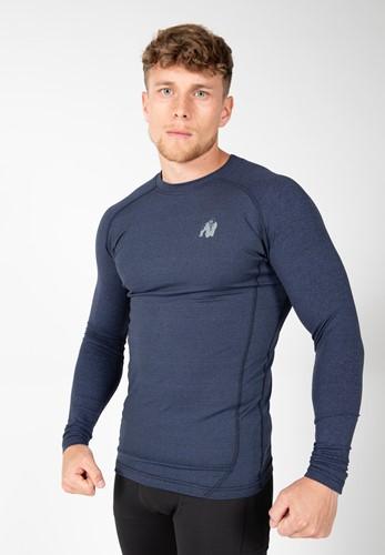 Rentz Long Sleeve Bleu Gorilla Wear