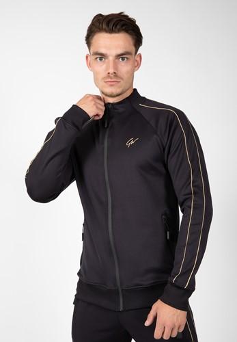 Wenden Track Jacket Noir et Or Gorilla Wear