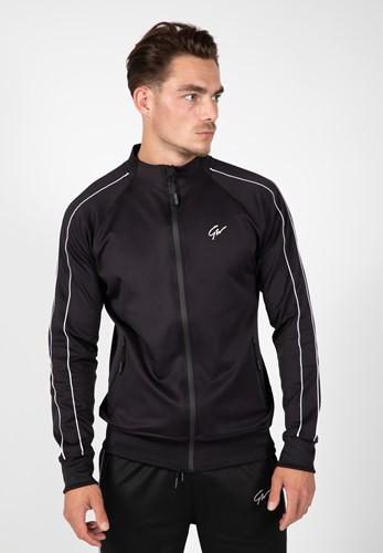 Wenden Track Jacket Noir et Blanc Gorilla Wear