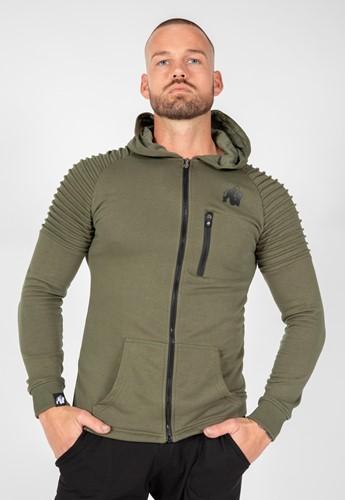 Delta Hoodie Vert Gorilla Wear