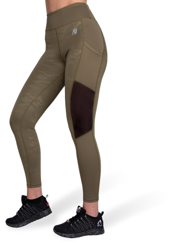 Savannah Mesh Tights Vert Cam Gorilla Wear