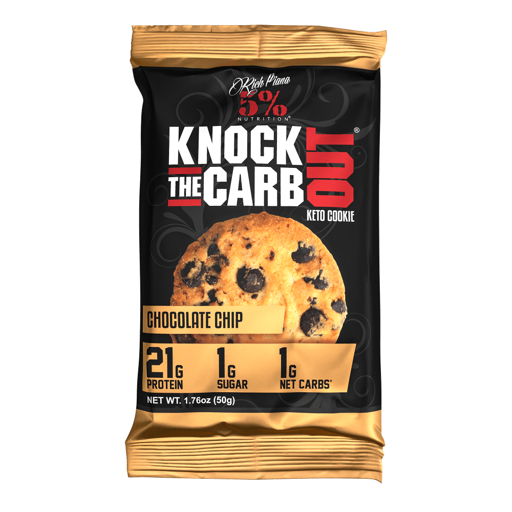 Knock The Carb Out Keto Cookies Rich Piana
