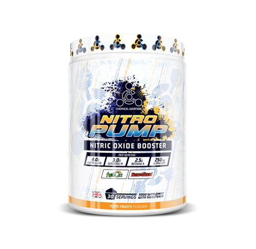 Nitro Pump Booster Chemical Warfare