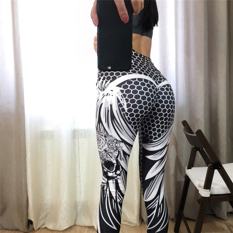 Leggings ailes d\'ange blanches
