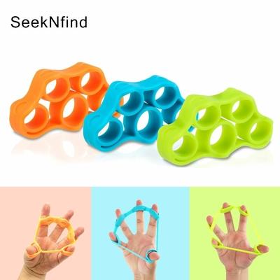 Élastique de musculation pour les doigts plusieurs coloris