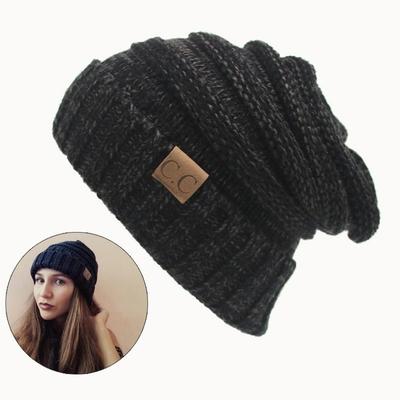 Bonnet tricoté CC