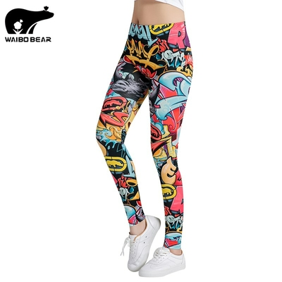 Leggings imprimé graffitis
