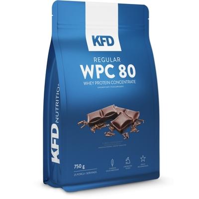 KFD REGULAR WPC 80 - SANS LACTOSE - PROTÉINES - 750G