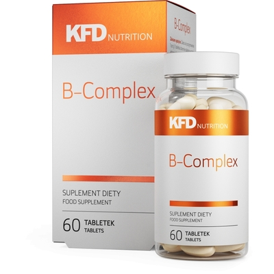 KFD B-COMPLEX - 60 CAPSULES