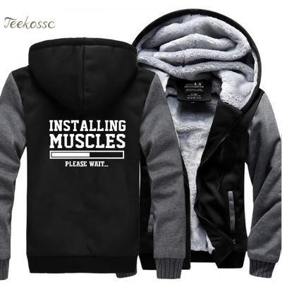 Sweat capuche muscles
