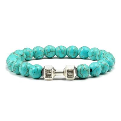 Bracelet Haltère perles
