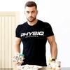 Marque-Mens-coton-t-chemise-gymnases-Fitness-Bodybuilding-Shirts-Manches-Courtes-2018-Nouvel-t-des-hommes