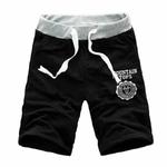 Hommes-Mince-Pantalon-Court-Casual-Jogger-Hommes-Gris-Noir-Bleu-Shorts-Pantalon-Fitness-Entra-nement-Coton