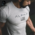 2018-Nouvelle-Marque-V-tements-Gymnases-Serr-Coton-T-shirt-Hommes-Fitness-T-shirt-Homme-Gymnases