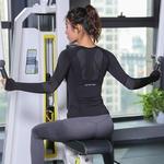 Tenue-de-Sport-femme-Fitness-femmes-Jersey-tricot-manches-longues-gymnastique-femme-chemise-de-Sport-serr