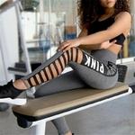 Femmes-leggings-rose-lettre-imprimer-vider-Leggings-taille-haute-Patchwork-femme-Fitness-Leggings-Sportswear-Leggings