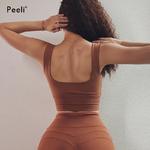 Peeli-Nylon-Soutien-Gorge-De-Sport-Femmes-Soutien-Top-De-Fitness-Rembourr-Yoga-Soutien-Gorge-de