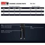 shawnee-joggers-sizechart