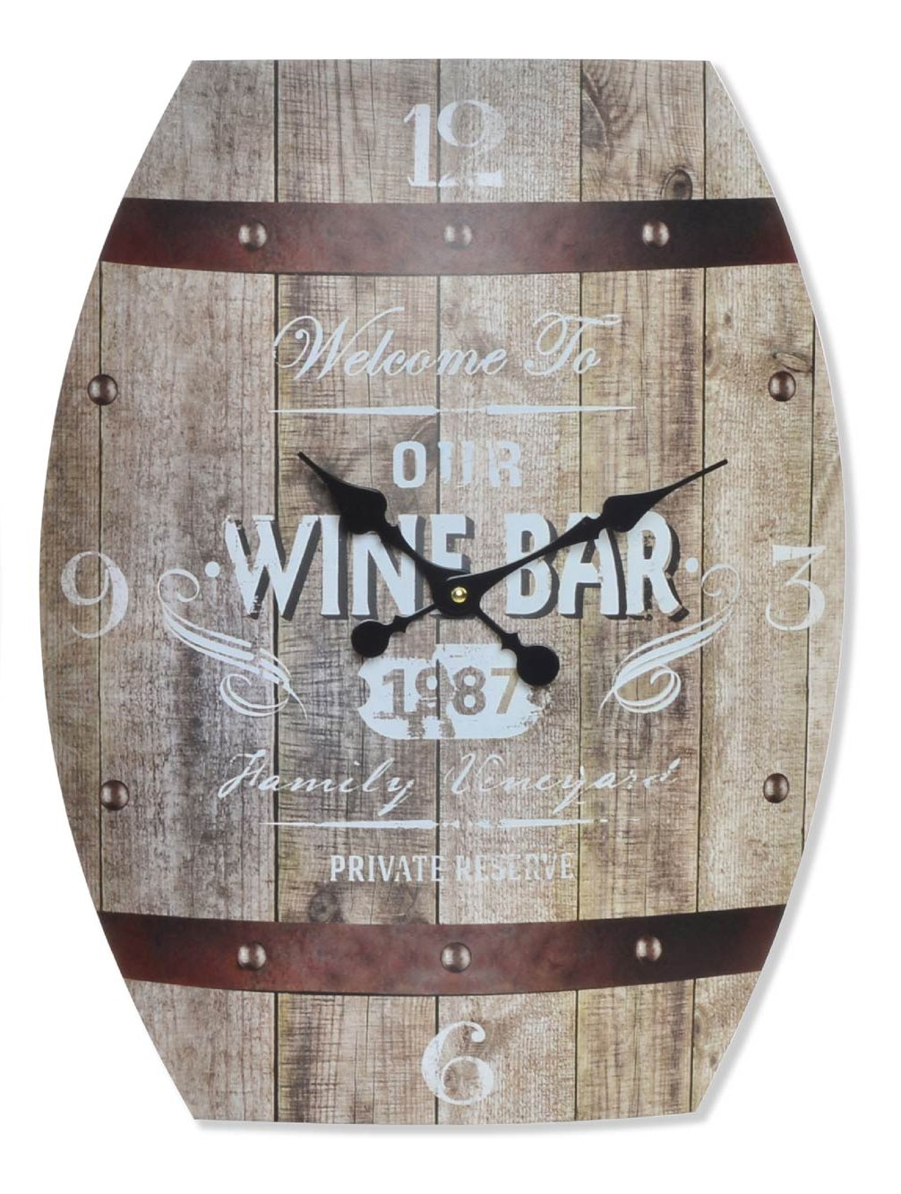 crea idea home horloge bodega wine bar
