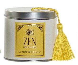 Bougie Zen Santal Iris