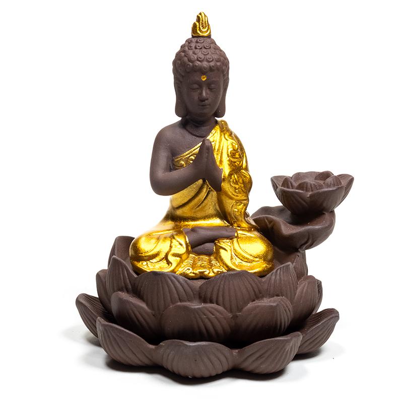 Brûleur encens à refoulement Bouddha