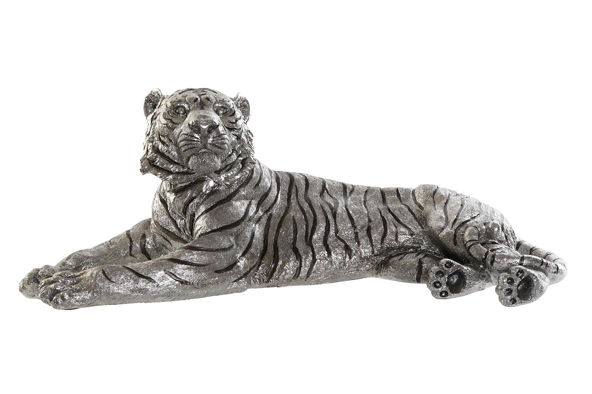 Statue Tigre Chrome