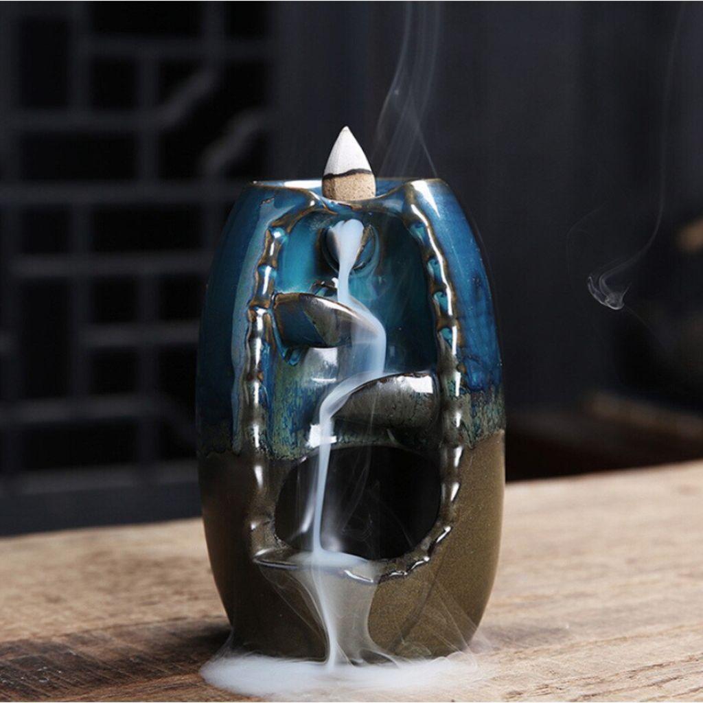 Fontaine à Encens Vase Cascade